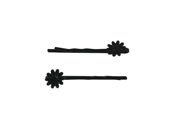 Image of Black Daisy Bobby Pin