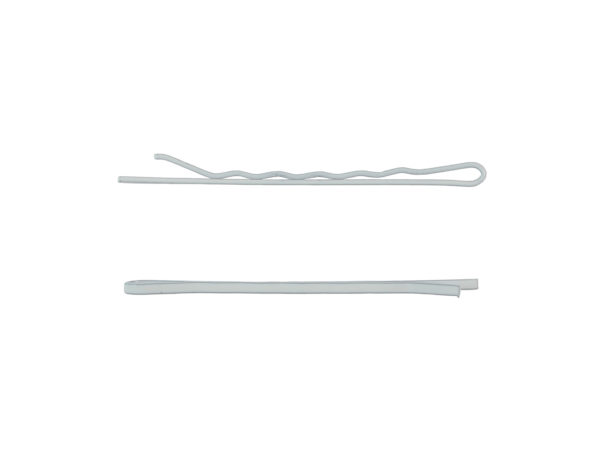 "Image of White 2"" Wave Bobby Pin"