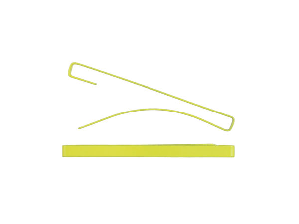 "Image of Lemon Yellow 2"" Bar Barrette"