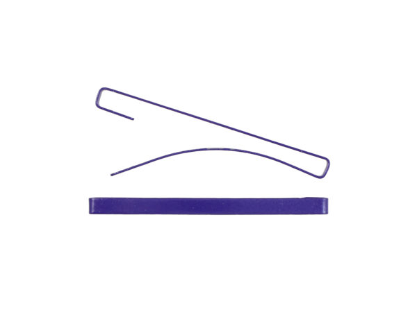 "Image of Purple 2"" Bar Barrette"