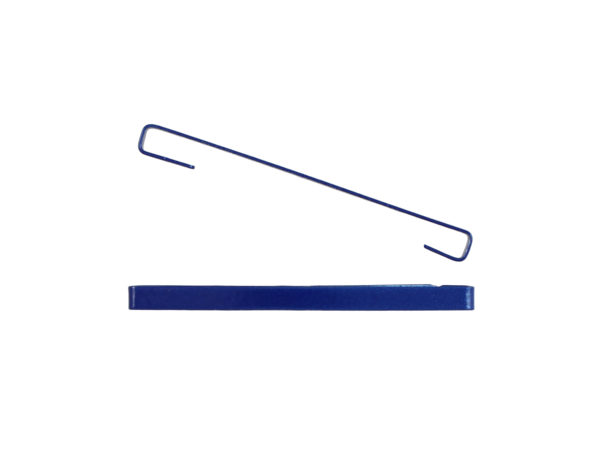 "Image of Royal Blue 2"" Bar Barrette"