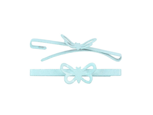 Image of Aqua Butterfly Barrette