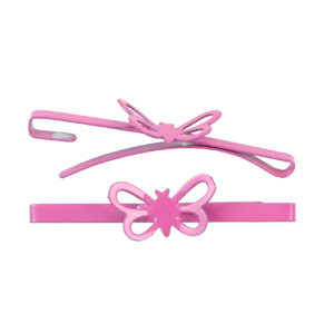 Image of Blossom Pink Butterfly Barrette