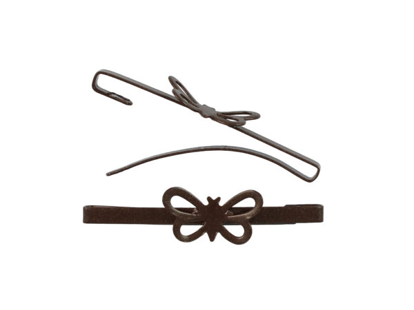Image of Brown Butterfly Barrette