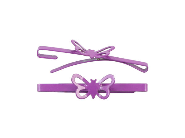 Image of Fuchsia Butterfly Barrette