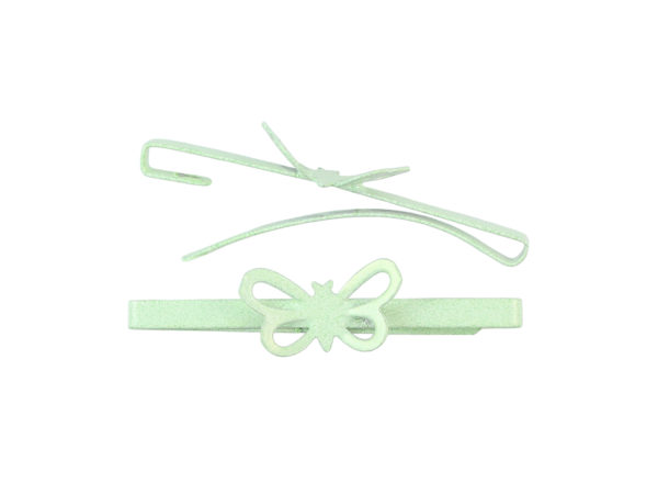 Image of Mint Green Butterfly Barrette