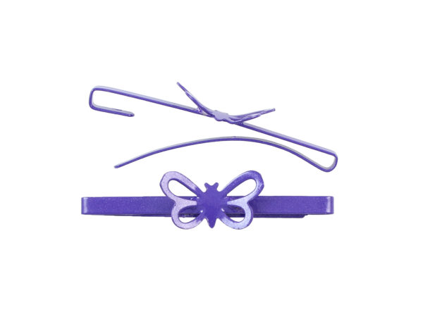 Image of Purple Butterfly Barrette