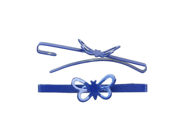 Image of Royal Blue Butterfly Barrette