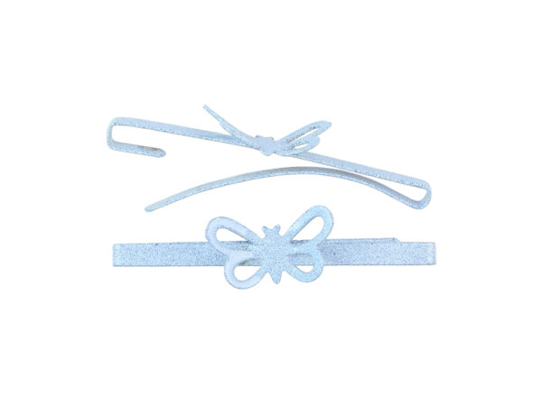 Image of Sky Blue Butterfly Barrette