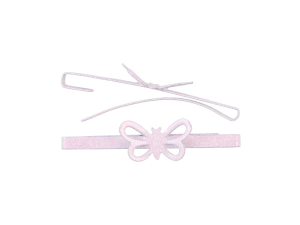 Image of Soft Pink Butterfly Barrette