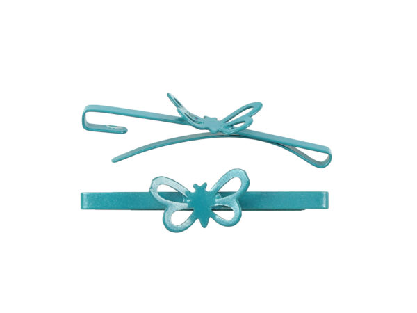Image of Teal Butterfly Barrette