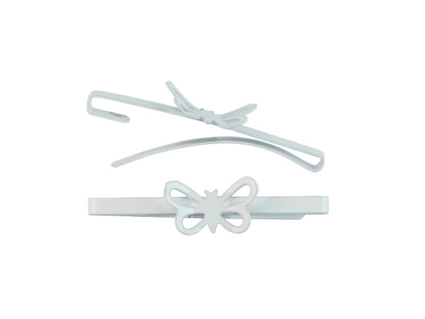 Image of White Butterfly Barrette
