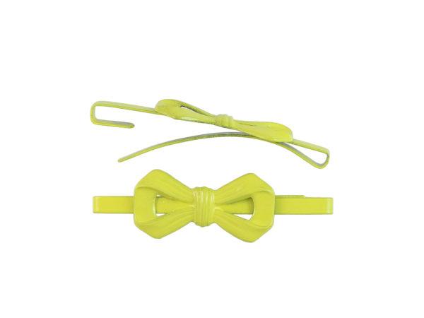 Image of Lemon Yellow Bow Barrette