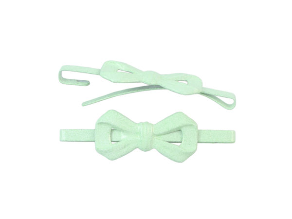 Image of Mint Green Bow Barrette