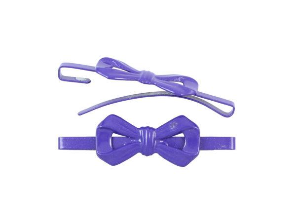 Image of Purple Bow Barrette