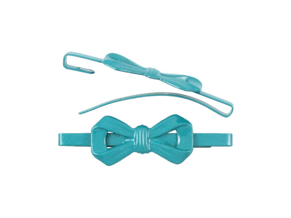 Image of Teal Bow Barrette