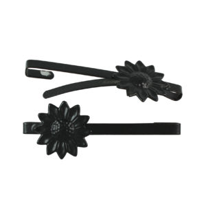 Image of Black Sunflower Barrette