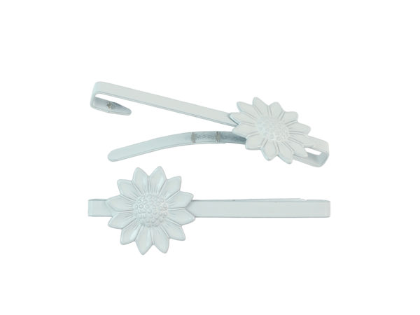 Image of White Sunflower Barrette
