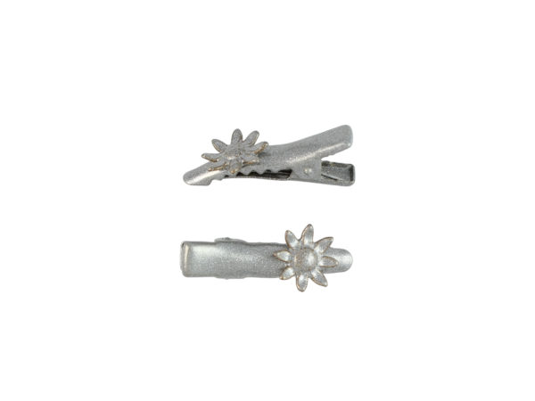 Image of Silver Sunflower Pinch Clip