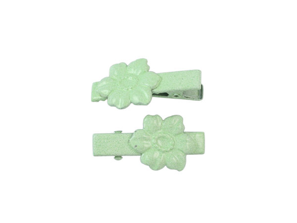 Image of Mint Green Dogwood Lil Girl Pinch Clip