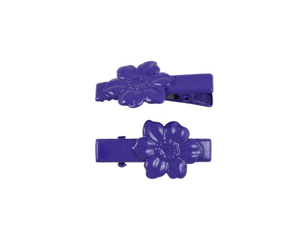 Image of Purple Dogwood Lil Girl Pinch Clip