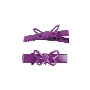 Image of Fuchsia Butterfly Lil Girl Pinch Clip