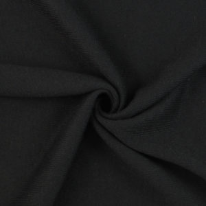 Image of Black Heather Knit fabric