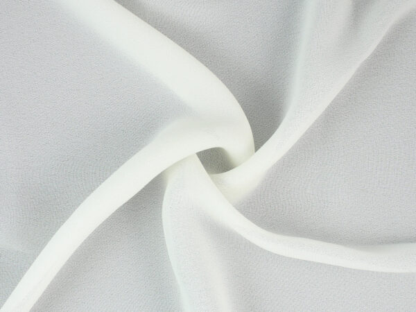 Image of Double Georgette Ivory