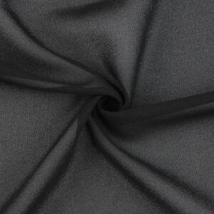 Image of Washed Chiffon Black