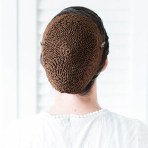 Image of Crochet Covering 01 Brown