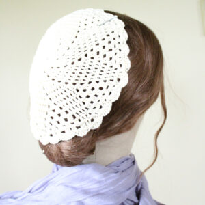 Image of Crochet Covering 02 Natural